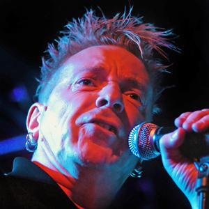 Singer John Lydon